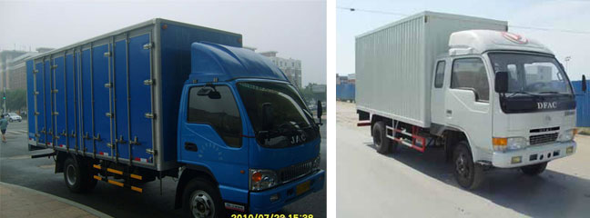 6.2米东风多利卡厢式货车(厂库房搬场主要车辆)