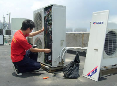 武汉搬家公司专业空调移机业务